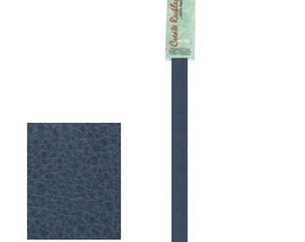 """Leather 10mm x 10"""" Strip, 1 Piece, Blue For create Jewelry Wa 540-113"""