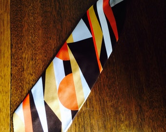 vintage clip-on tie, 70s, the snapper