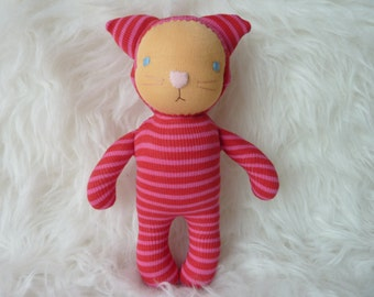 """Waldorf inspired cat Doll 10"""""""