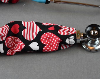 stethoscope cover hello kitty fabric stethoscope cord cover. Black Bedroom Furniture Sets. Home Design Ideas