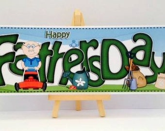 Fathers Day Card * Gardening Card * Dad Card * Fathers Day Gardening Card * Happy Fathers Day * Card For Dad * Happy Fathers Day Card *