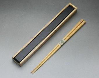 Japanese Wooden Chopsticks and Chopsticks Box
