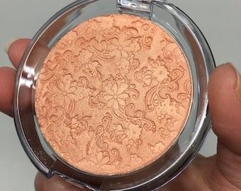 JUMBO Pretty in Peach Pressed Highlighter Face & Eye Highlight Powder