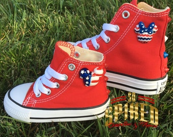 Character Head Converse w/ studs