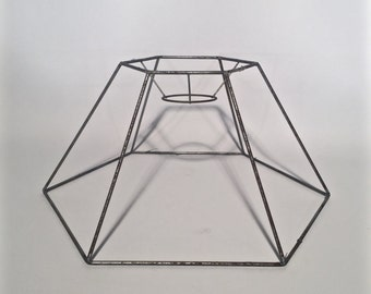 Hexagon Wire Lamp Shade
