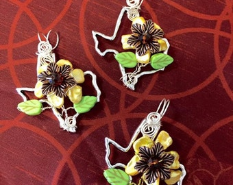 Texas Sunflower Pendant