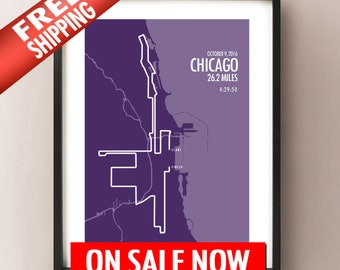 New 2016 Chicago Marathon - LIMITED SALE - FREE Shipping!