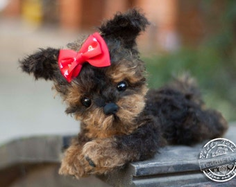 Puppy York Betty(is possible repeat to order) ,Yorkshire Terrier ,Teddy York ,Toy ,Terrier ,dog ,plush dog,plush toy,teddy, teddy york