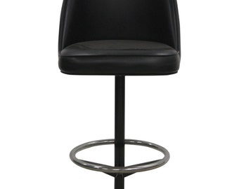 black leather bar stools - White Leather Bar Stools