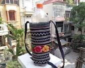 Hmong Water Bottle Bag