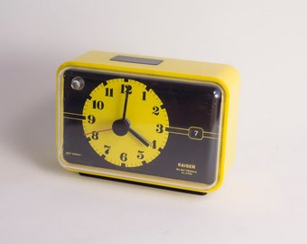 Alarm Clock Brand Kaiser. Made in Germany.