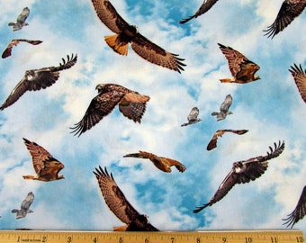 North American Wildlife Fabric From Elizabeth's Studio By the Yard