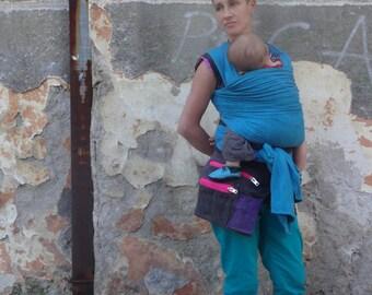 Hip Bag Waxed Canvas Babywearing Bag Travel Belt Pouch Festival Bag Fanny Pack