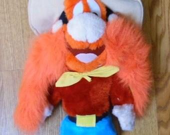 1996 looney tunes yosemite sam cartoon doll good vintage condition tagged 18 - Yosemite Sam Halloween Costume