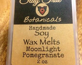 Moonlight Pomegranate Soy Wax Melts//Vegan