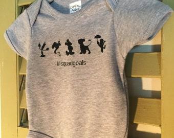 Disney Onesie #squadgoals