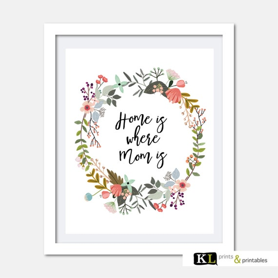 Mothers day print home decor mothers day digital download for Where to buy home decor