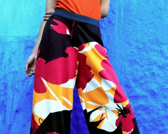 Women Pants; Palazzo Pants; Wide Leg Pants; Midi Palazzo Pants; Beach Pants; Yoga pants; Hippie Pants; Designer Printed pants