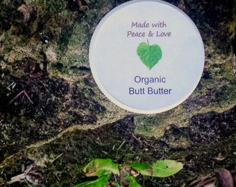 Organic Butt Butter, Diaper Cream, Diaper Rash Cream