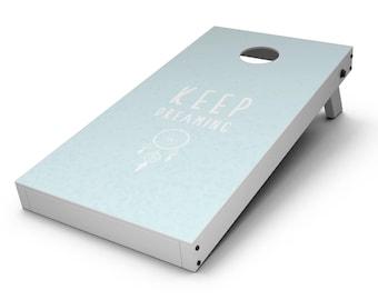 Keep Dreaming Dreamcatcher - Cornhole Board Skin Kit