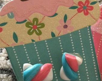 Flump Marshmallow Earrings