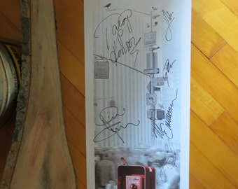Person of Interest Autographed 2012 Comic Con S2 Original Poster