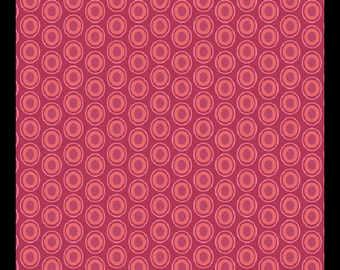 "Art Gallery ""oval element"" cranberry"