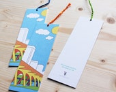 Paper Bookmark - Richmond Skyline
