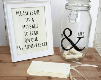 Wedding Message in a Bottle,75 cards