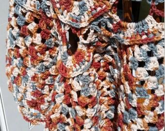 Neutral Crochet Shawl