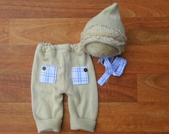 """Wilbur"""" Newborn Pant Set"""