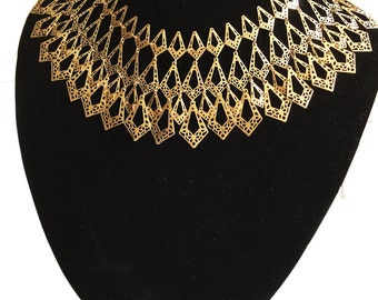 Gold Geo-Necklace