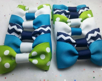 Party Favor Bow Ties (Set of 12)          Matching Garland Available