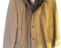 51% OFF Mighty Mac of Gloucester - Men's Heavy Duty Coat - Faux Fur - 44R