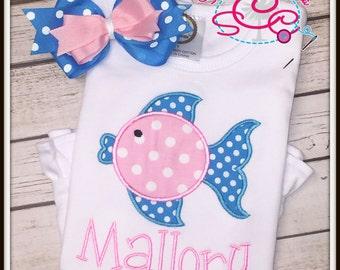 Personalized Blowfish Shirt/Bodysuit