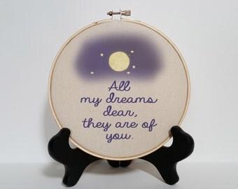 All my dreams print