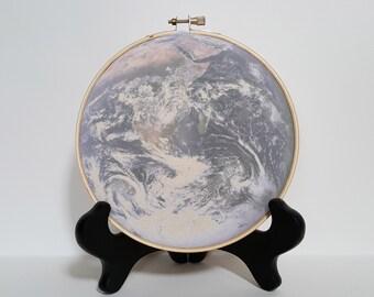 Earth Hoop print