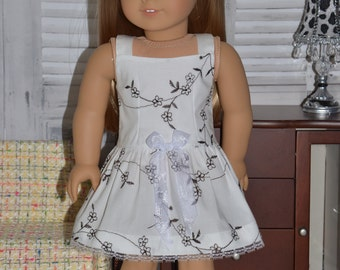 American Girl Doll Clothes-  Dress .