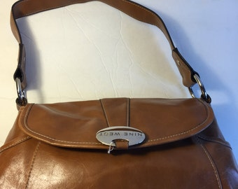 Q003  Nine West handbag brown
