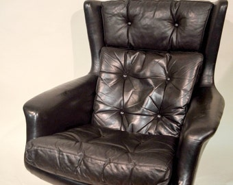 Kanari of Denmark Leather Lounger