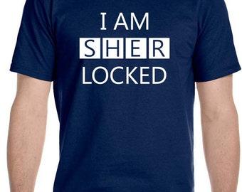 I AM SHER LOCKED Men's T-Shirt