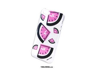 Watermelon Sandias Malibu Summer Fresh Flamingo Beach Playa Hot Barbie Transparente Case Funda Iphone Samsung Galaxy Motorola