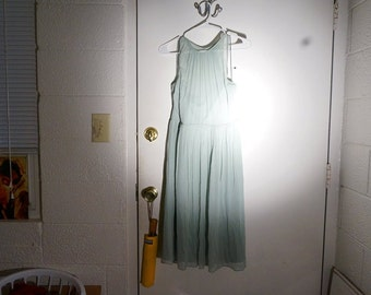 J Crew Dress,  Pale Green, medium