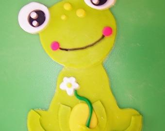 "6"" Frog Cake Topper"