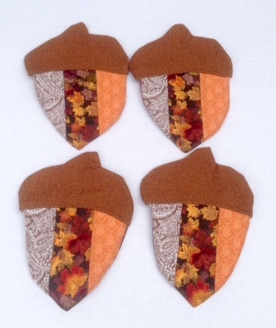 Acorn Coasters