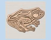 WOOD WALL ART~ Frog Wood ...