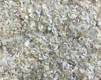 Country Wedding Confetti Champagne Blush Ivory Biodegradable Vintage