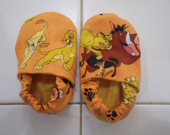 Crib Shoes with The Lion King
