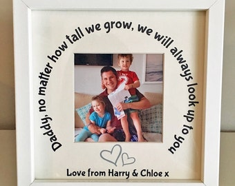 Daddy Photo Frame - From Us