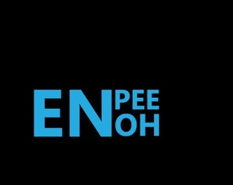 ENPEEOH vinyl sticker